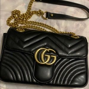 GG Quilted Chain Purse